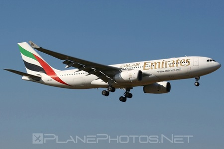 Airbus A330-243 - A6-EKZ operated by Emirates
