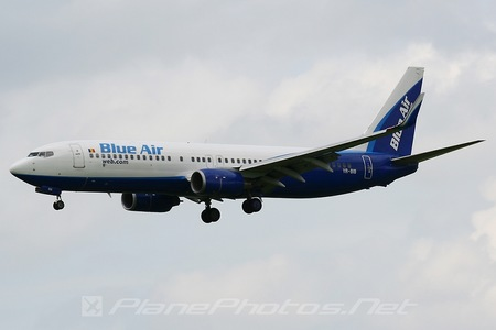 Boeing 737-800 - YR-BIB operated by Blue Air