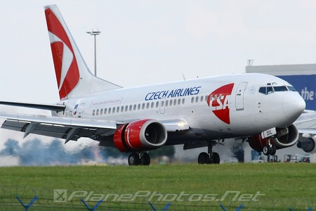 Boeing 737-500 - OK-DGL operated by CSA Czech Airlines