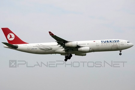 Airbus A340-313E - TC-JDN operated by Turkish Airlines