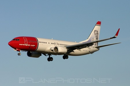 Boeing 737-800 - LN-DYE operated by Norwegian Air Shuttle