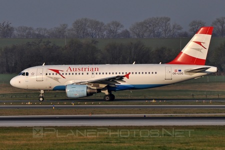 Airbus A319-112 - OE-LDG operated by Austrian Airlines