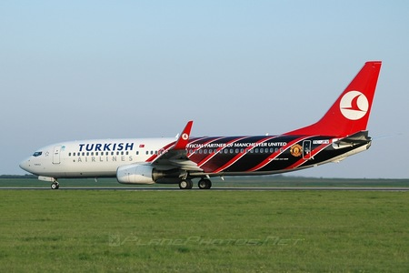 Boeing 737-800 - TC-JFV operated by Turkish Airlines