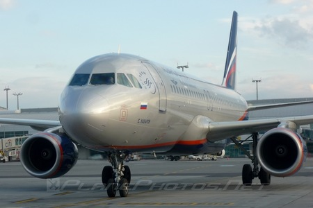 Airbus A320-214 - VP-BZP operated by Aeroflot