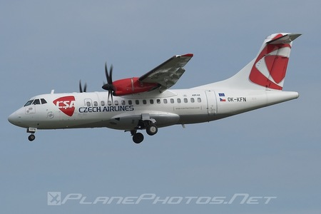 ATR 42-500 - OK-KFN operated by CSA Czech Airlines