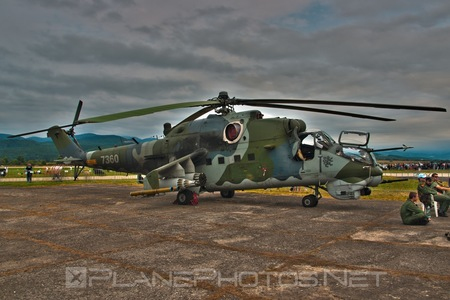 Mil Mi-35 - 7360 operated by Vzdušné síly AČR (Czech Air Force)