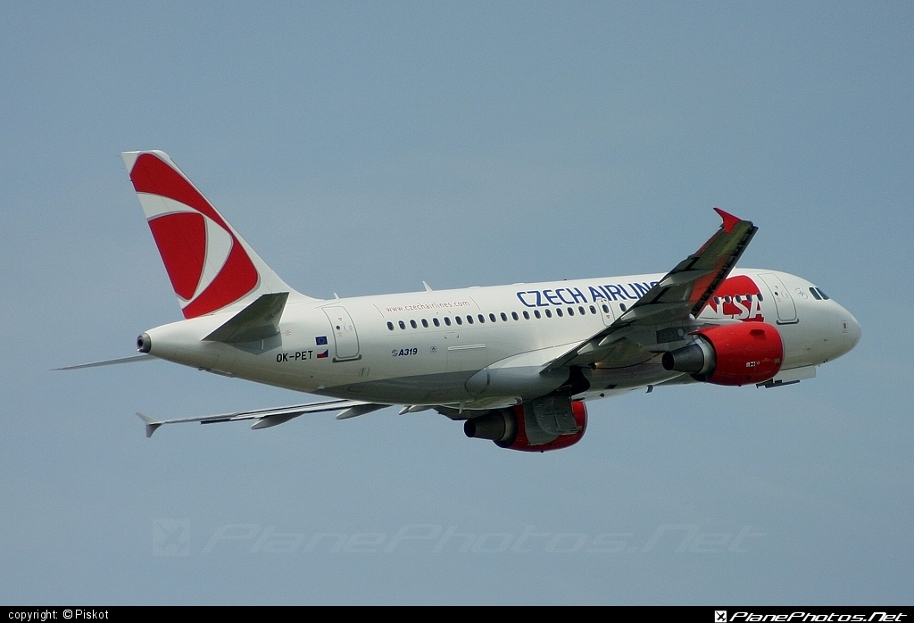 Airbus A319-112 - OK-PET operated by CSA Czech Airlines #a319 #a320family #airbus #airbus319 #csa #czechairlines