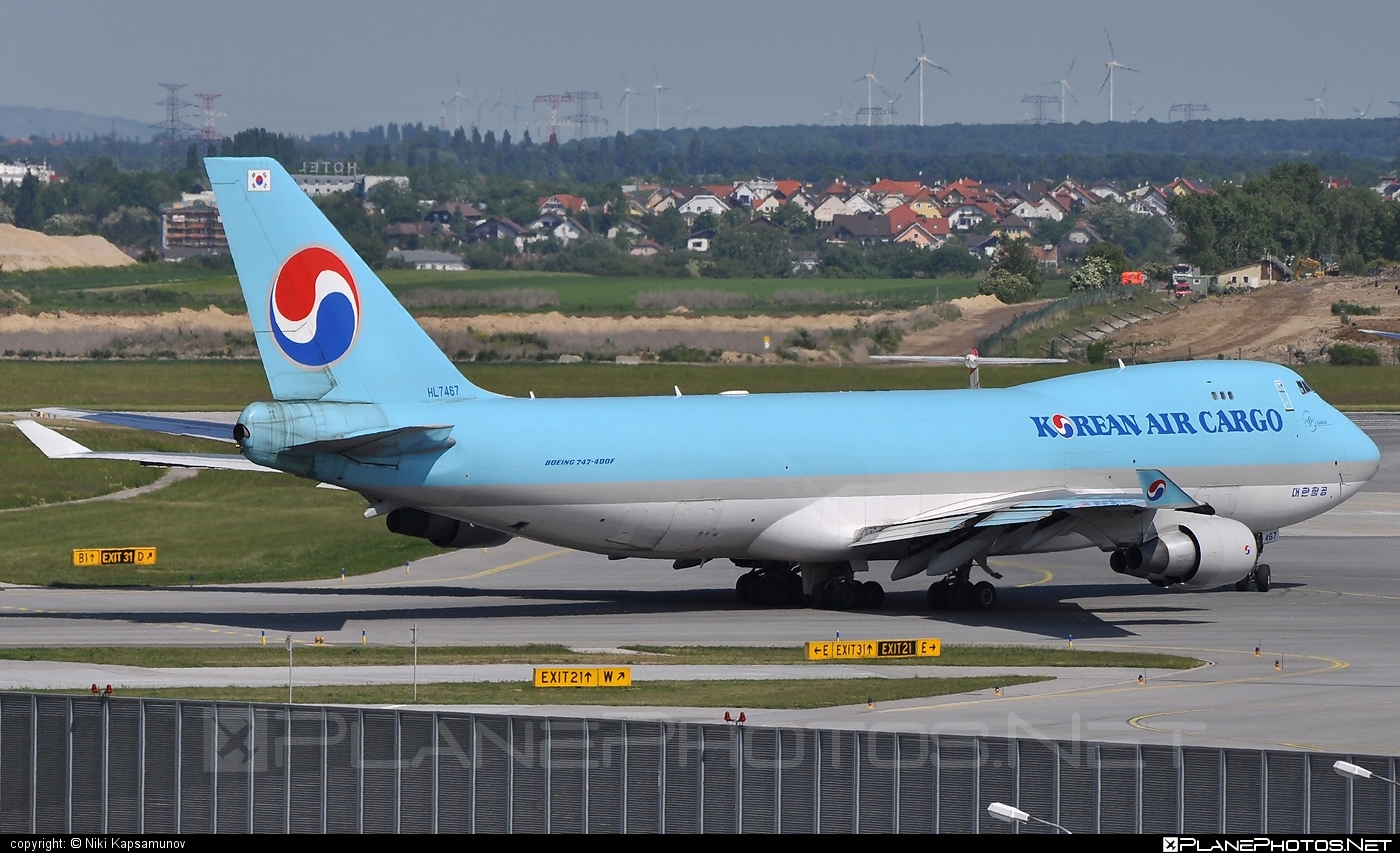 Boeing 747-400F - HL7467 operated by Korean Air Cargo #b747 #boeing #boeing747 #jumbo #koreanair #koreanaircargo