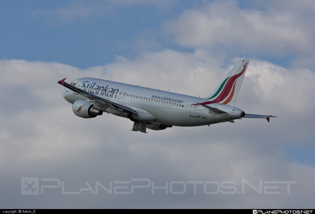 Airbus A320-214 - 4R-ABO operated by SriLankan Airlines #a320 #a320family #airbus #airbus320