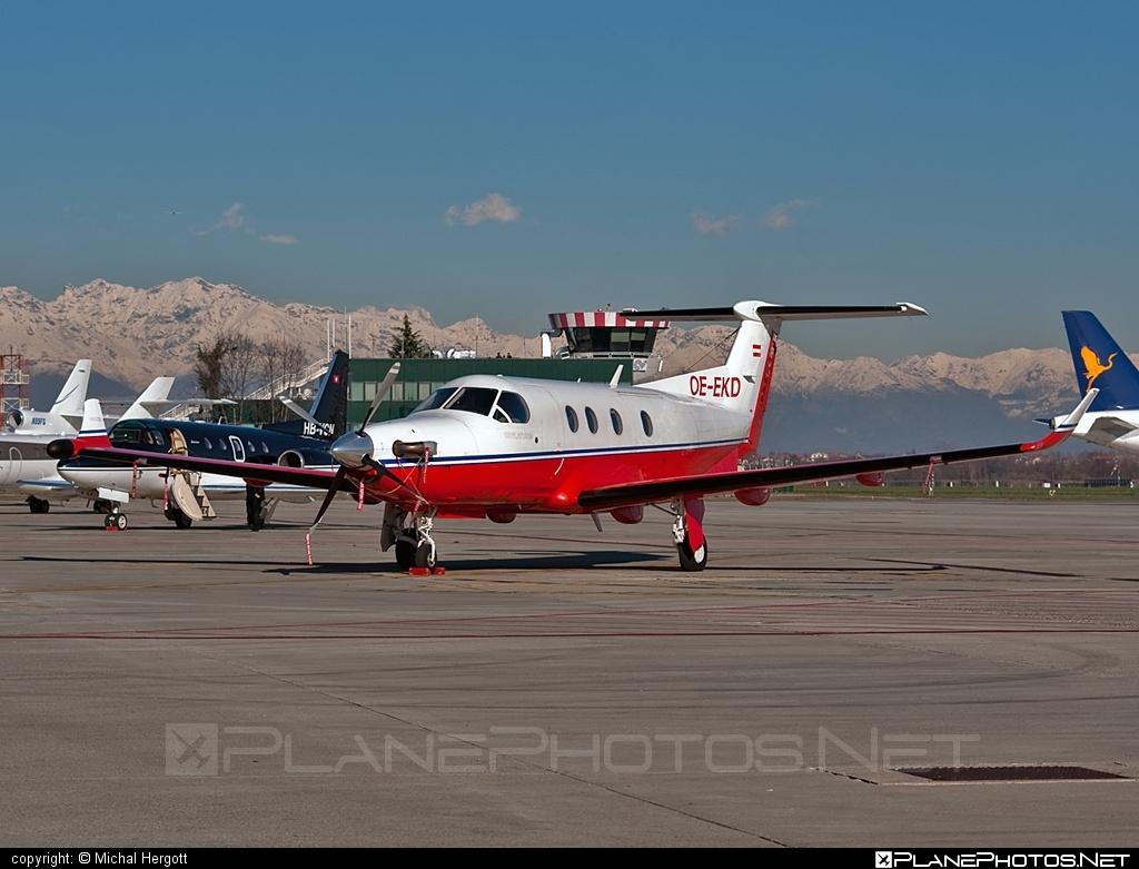 Pilatus PC-12/45 - OE-EKD operated by Private operator #pilatus