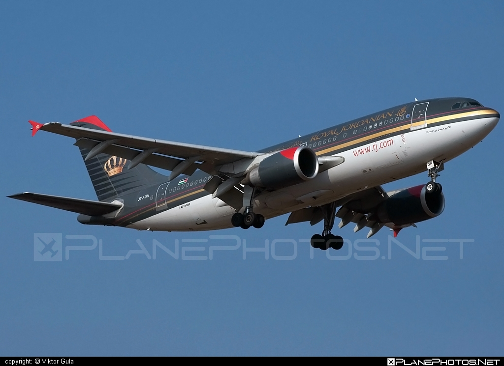 Airbus A310-304 - JY-AGN operated by Royal Jordanian #a310 #airbus