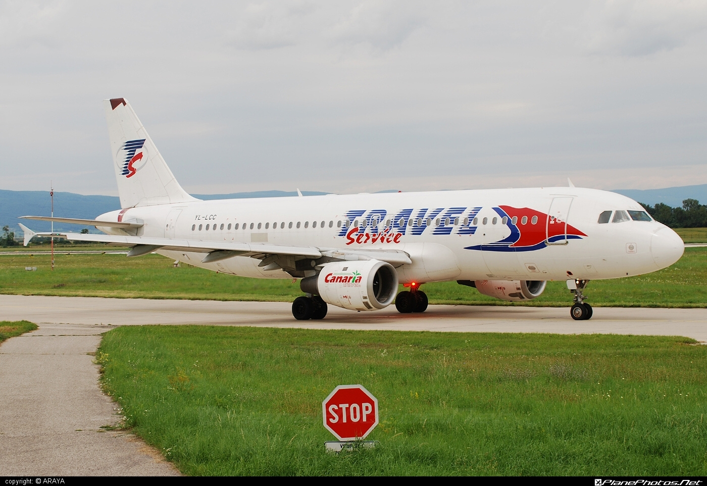 Airbus A320-211 - YL-LCC operated by Travel Service #a320 #a320family #airbus #airbus320 #travelservice