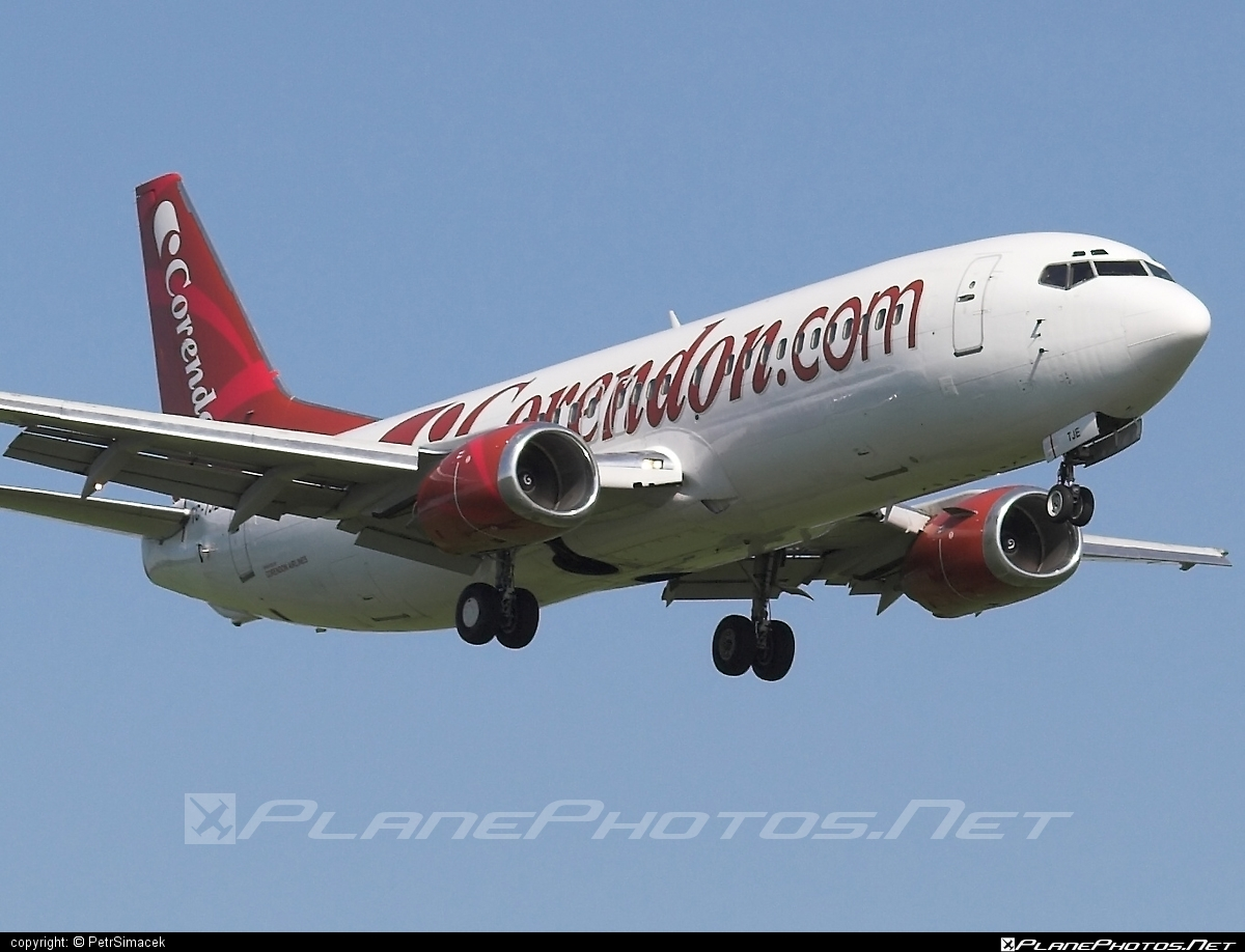 Boeing 737-400 - TC-TJE operated by Corendon Airlines #b737 #boeing #boeing737