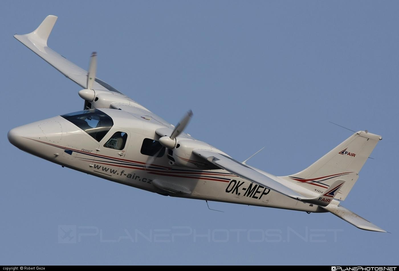 Tecnam P2006T - OK-MEP operated by F Air #tecnam