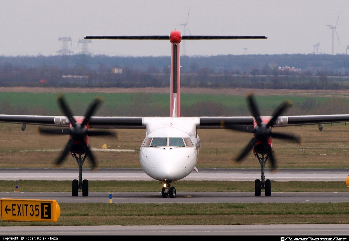 Bombardier DHC-8-Q402 Dash 8 - D-ABQF operated by Air Berlin #airberlin #bombardier #dash8 #dhc8 #dhc8q402
