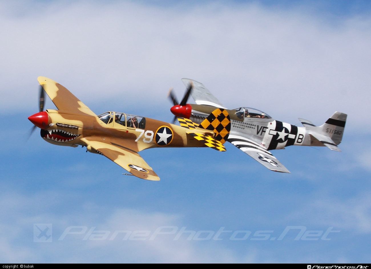 Curtiss P-40N Kittyhawk - N85104 operated by Private operator #curtiss