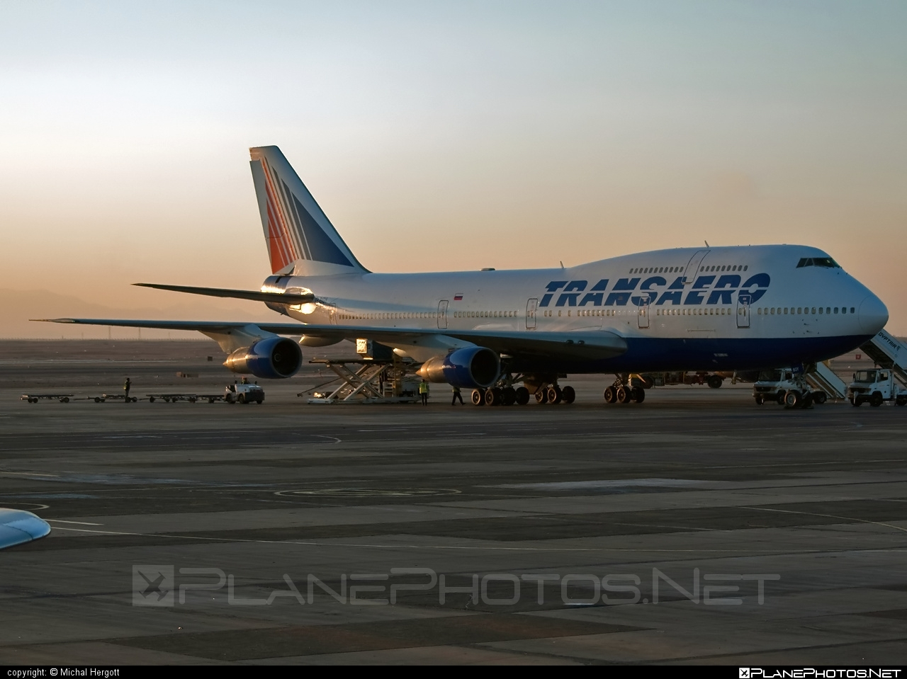 Boeing 747-300 - VP-BGY operated by Transaero Airlines #b747 #boeing #boeing747 #jumbo #transaero #transaeroairlines