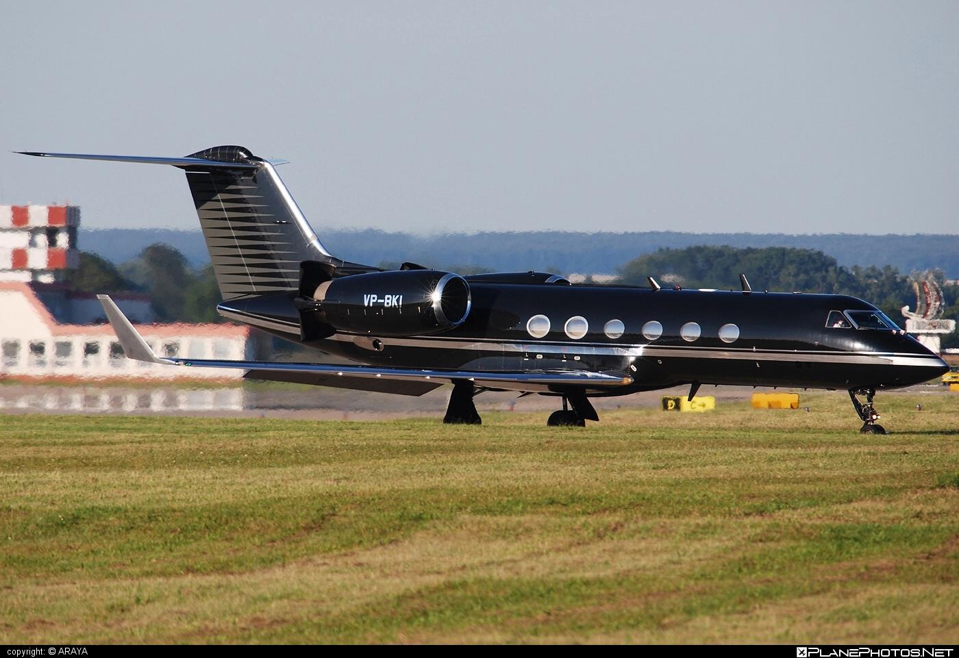 Gulfstream GIV-SP - VP-BKI operated by Gama Aviation #giv #givsp #gulfstream #gulfstreamgiv #gulfstreamiv