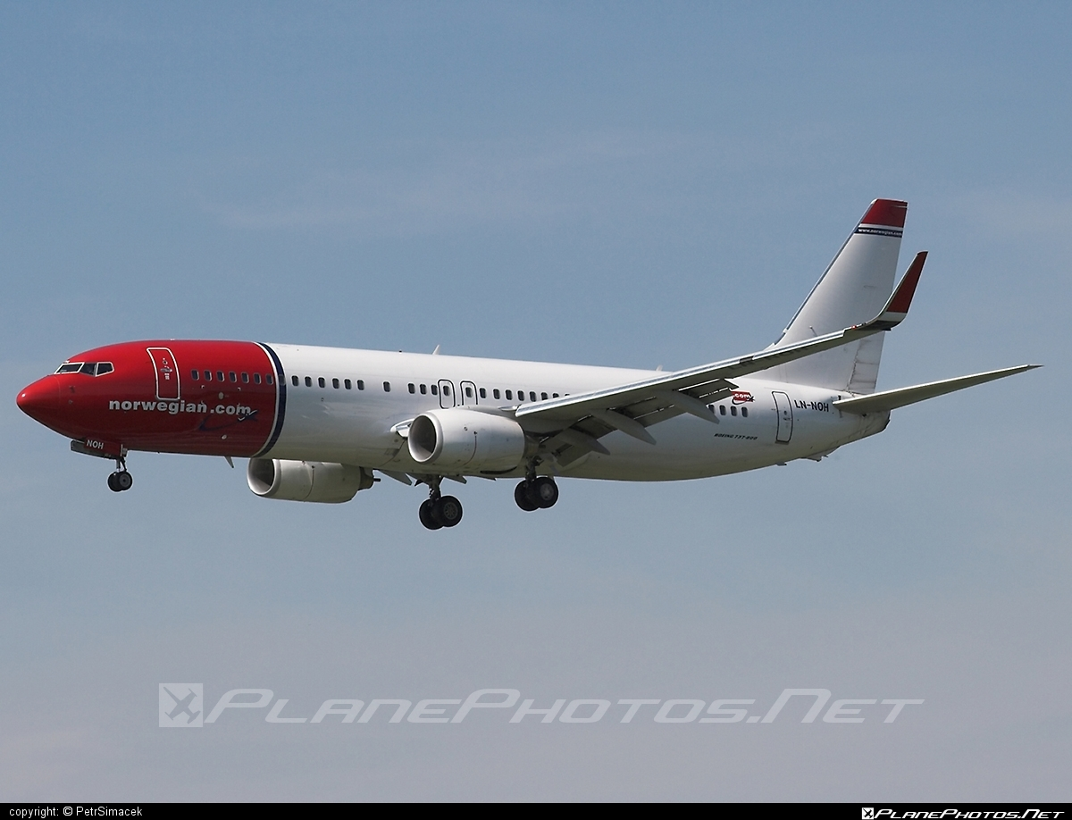 Boeing 737-800 - LN-NOH operated by Norwegian Air Shuttle #b737 #b737nextgen #b737ng #boeing #boeing737 #norwegian #norwegianair #norwegianairshuttle