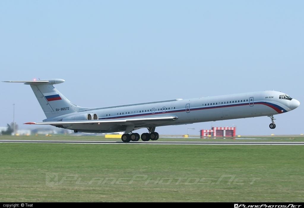 Ilyushin Il-62M - RA-86572 operated by Voyenno-vozdushnye sily Rossii (Russian Air Force) #il62 #il62m #ilyushin
