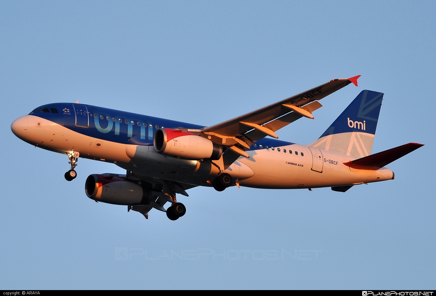 Airbus A319-131 - G-DBCF operated by bmi British Midland #a319 #a320family #airbus #airbus319