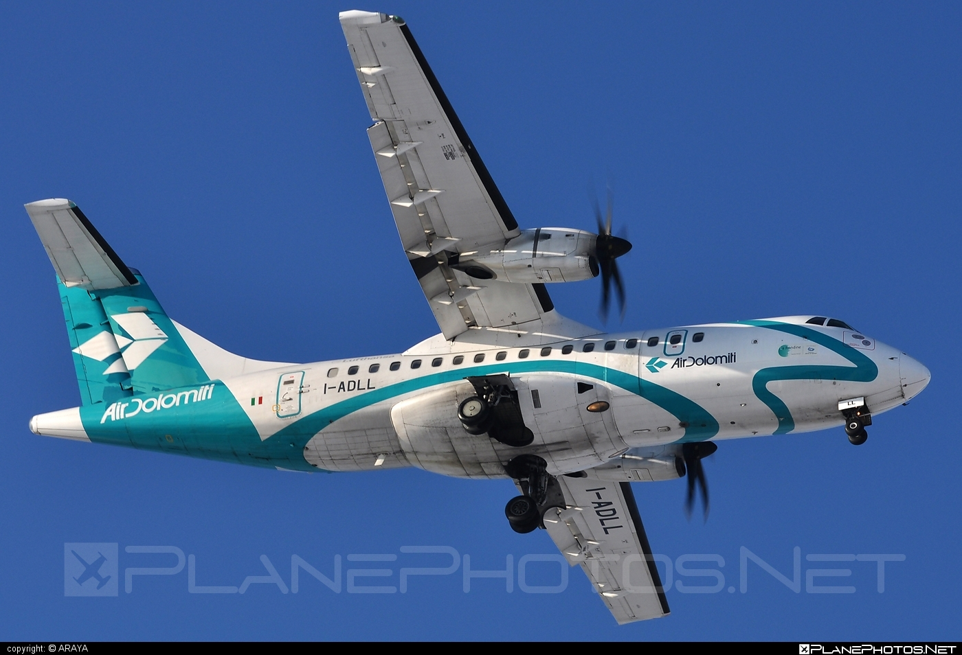 ATR 42-500 - I-ADLL operated by Air Dolomiti #airdolomiti #atr #atr42 #atr42500
