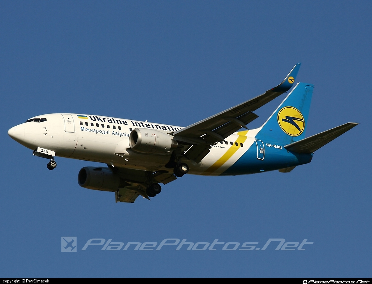 Boeing 737-500 - UR-GAU operated by Ukraine International Airlines #b737 #boeing #boeing737 #uia #ukraineinternationalairlines