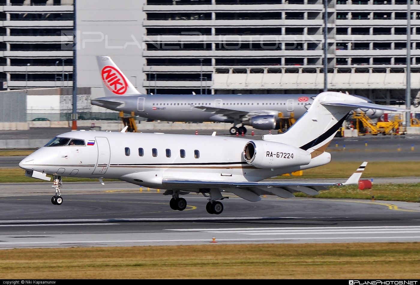 Bombardier Challenger 300 (BD-100-1A10) - RA-67224 operated by Private operator #bd1001a10 #bombardier #challenger300