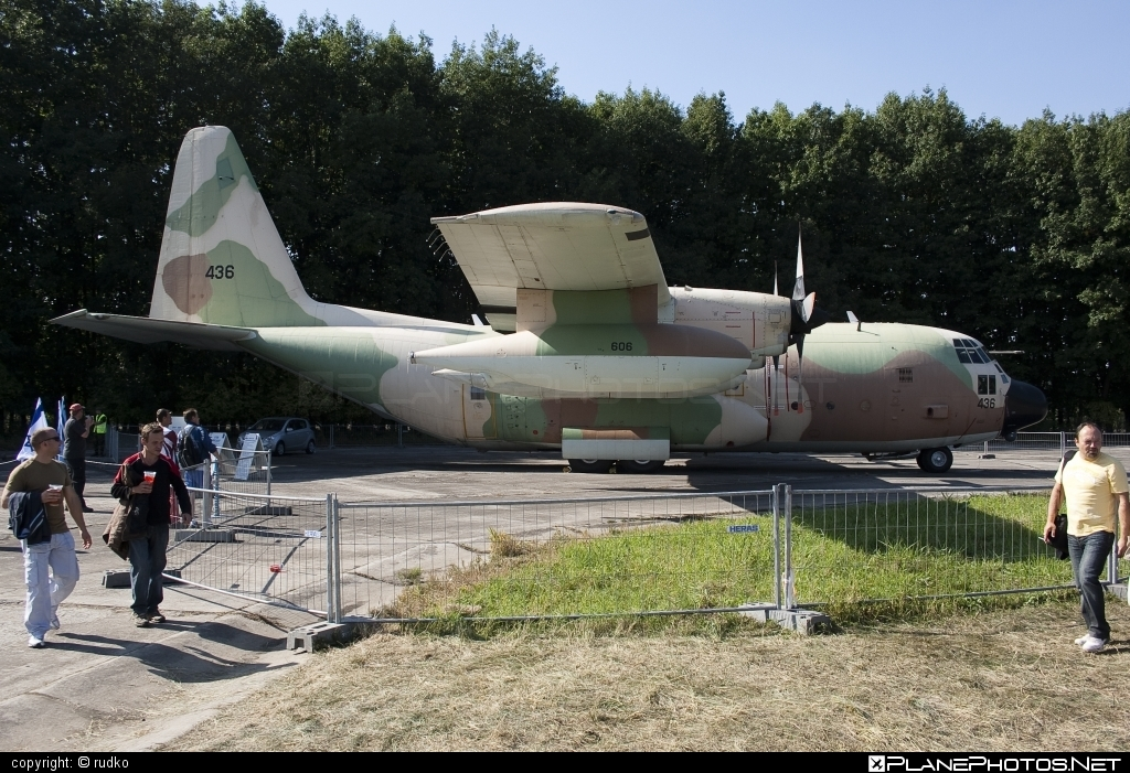 Lockheed KC-130H Karnaf - 436 operated by Zroa HaAvir VeHahalal (Israeli Air Force) #lockheed #natodays #natodays2011