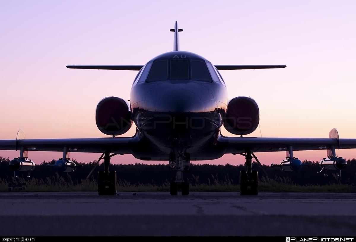 FR Aviation Dassault Falcon 20D - G-FRAU #dassault