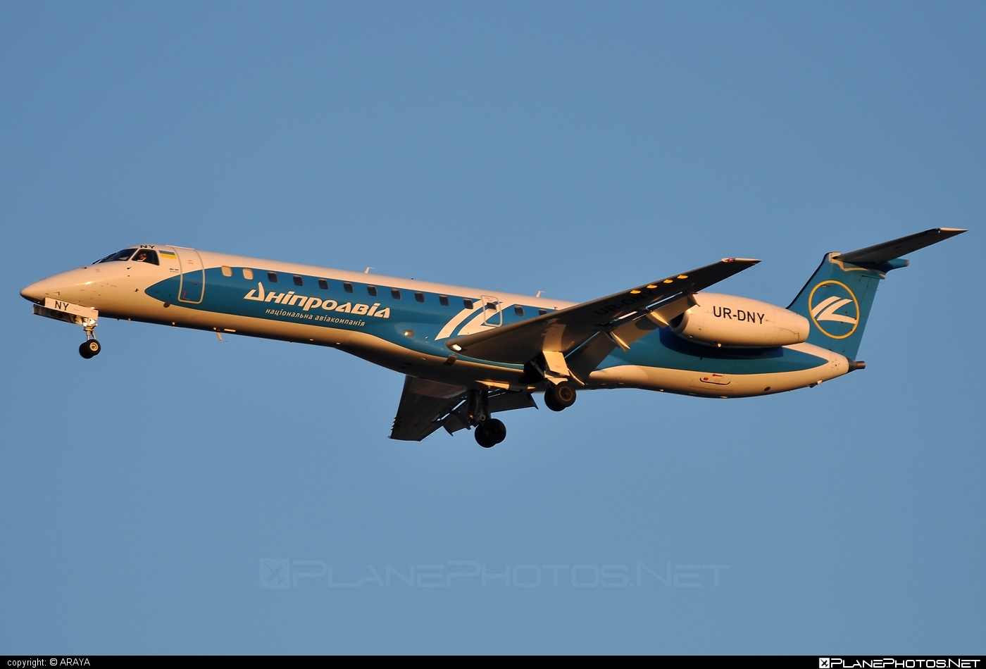 Embraer ERJ-145LR - UR-DNY operated by Dniproavia #embraer