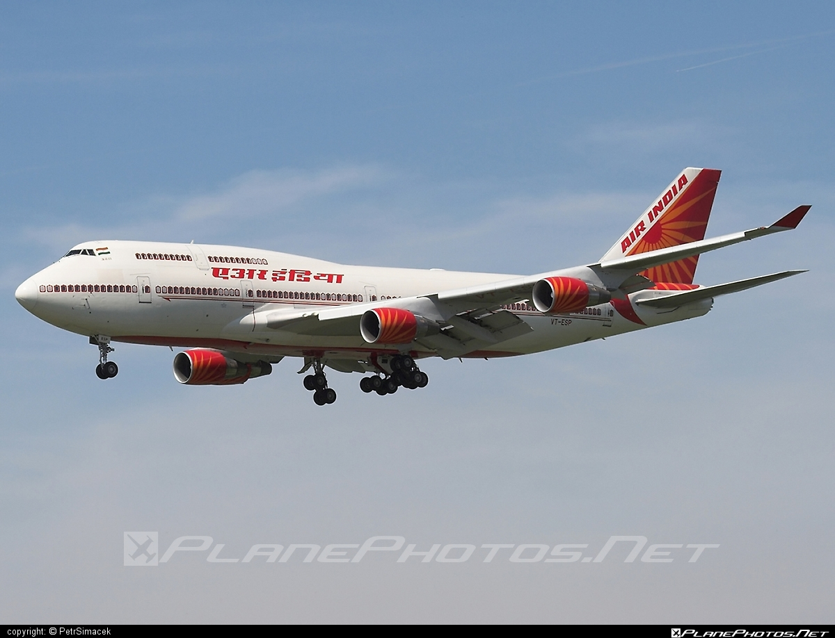 Boeing 747-400 - VT-ESP operated by Air India #b747 #boeing #boeing747 #jumbo