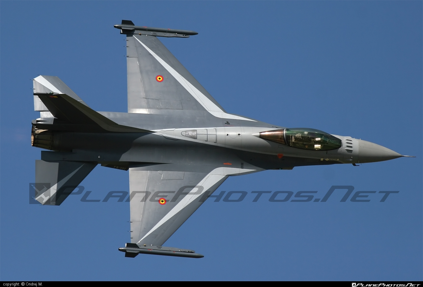 Luchtcomponent (Belgian Air Force) SABCA F-16AM Fighting Falcon - FA-131 #f16 #f16am #fightingfalcon #sabca
