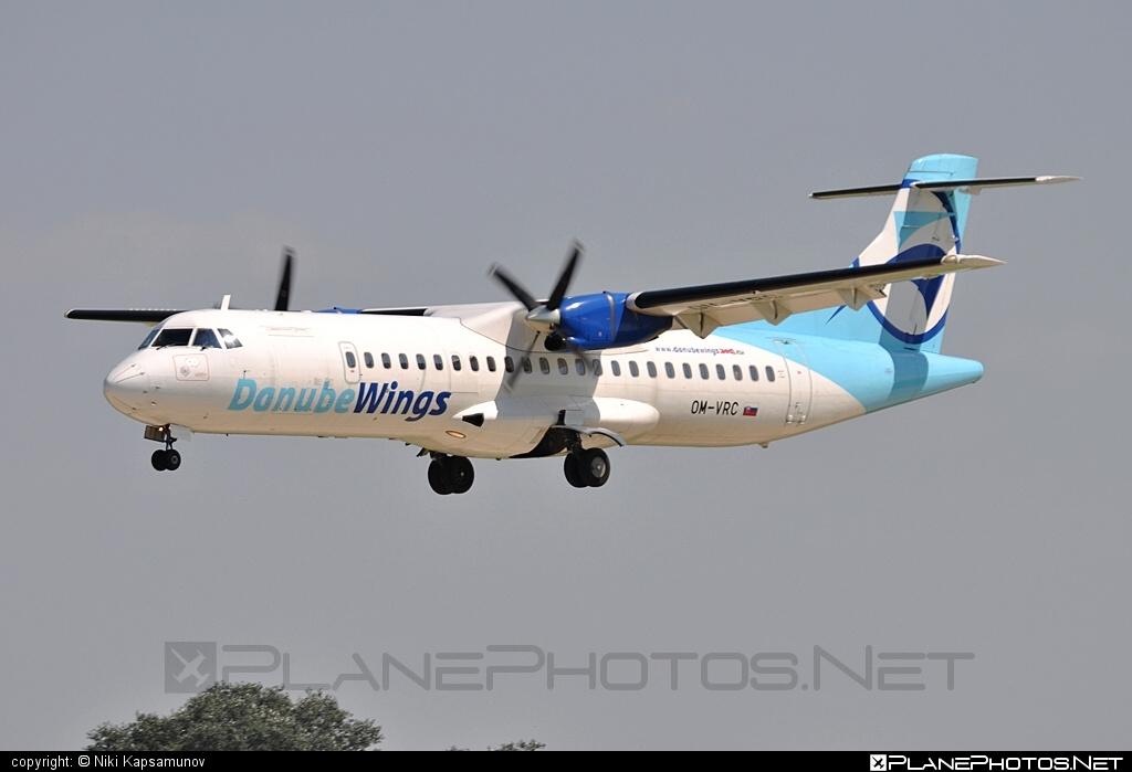ATR 72-202 - OM-VRC operated by Danube Wings #atr