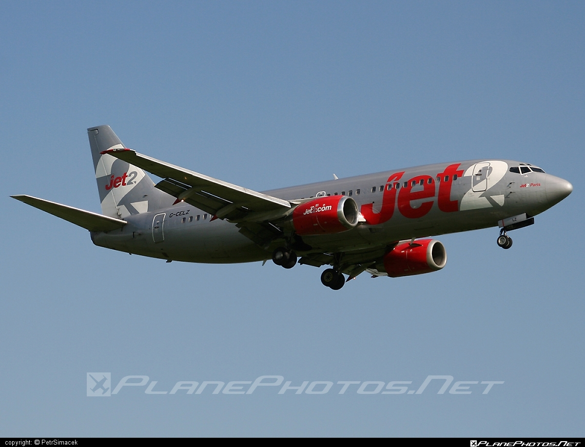 Boeing 737-300 - G-CELZ operated by Jet2 #b737 #boeing #boeing737 #jet2