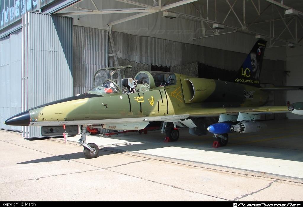 Aero L-39ZA Albatros - 2433 operated by Vzdušné síly AČR (Czech Air Force) #aero #aerol39 #aerol39albatros #aerol39zaalbatros #albatros #czechairforce #l39 #l39za #l39zaalbatros #vzdusnesilyacr
