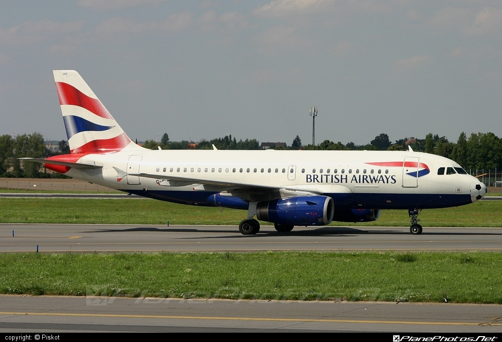 Airbus A319-131 - G-EUPX operated by British Airways #a319 #a320family #airbus #airbus319 #britishairways