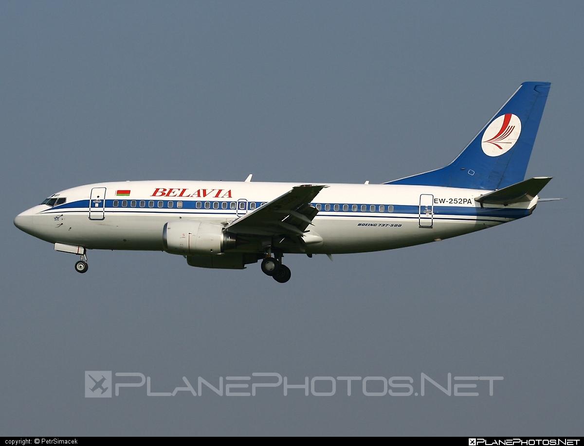 Boeing 737-500 - EW-252PA operated by Belavia Belarusian Airlines #b737 #belavia #boeing #boeing737
