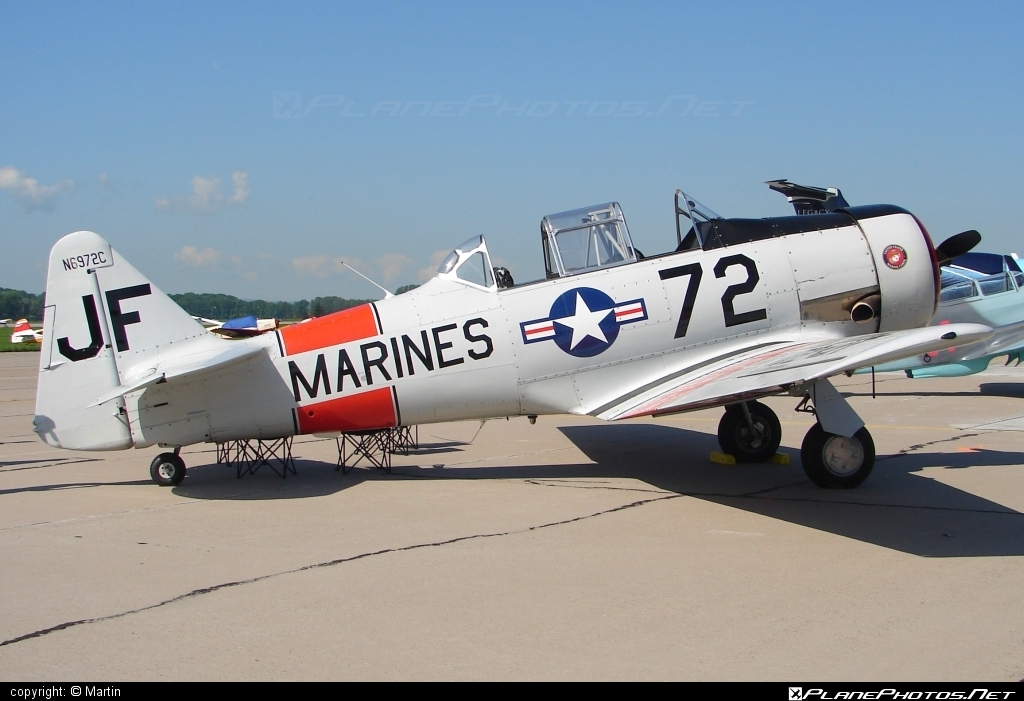 North American SNJ-5 Texan - N6972C operated by Private operator #northamerican