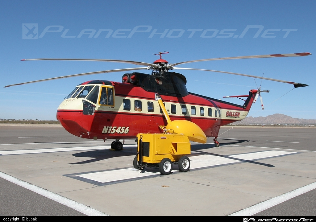Sikorsky S-61N - N15456 operated by Siller Brothers #sikorsky