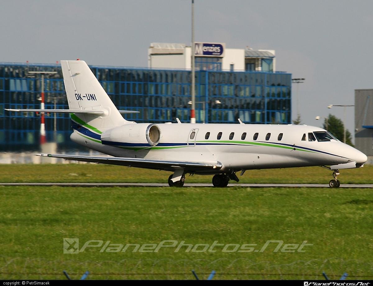 Cessna 680 Citation Sovereign - OK-UNI operated by Travel Service #cessna #travelservice