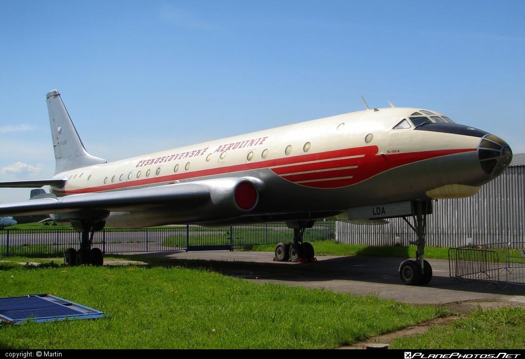 Tupolev Tu-104A - OK-LDA operated by ČSA Československé aerolínie #tu104 #tu104a #tupolev