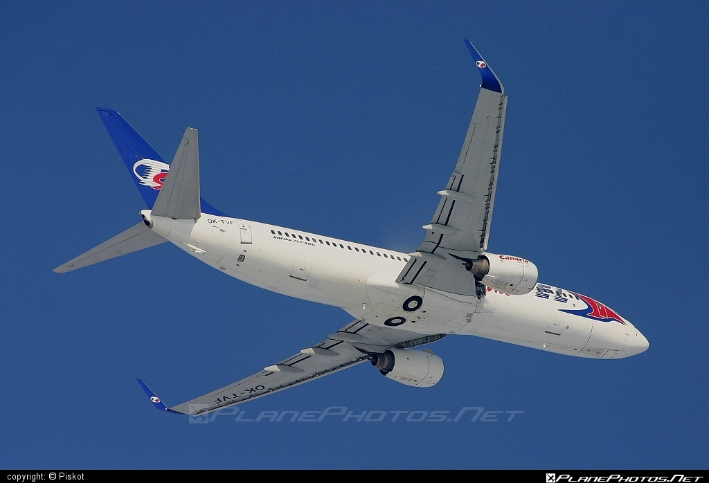 Boeing 737-800 - OK-TVF operated by Travel Service #b737 #b737nextgen #b737ng #boeing #boeing737 #travelservice
