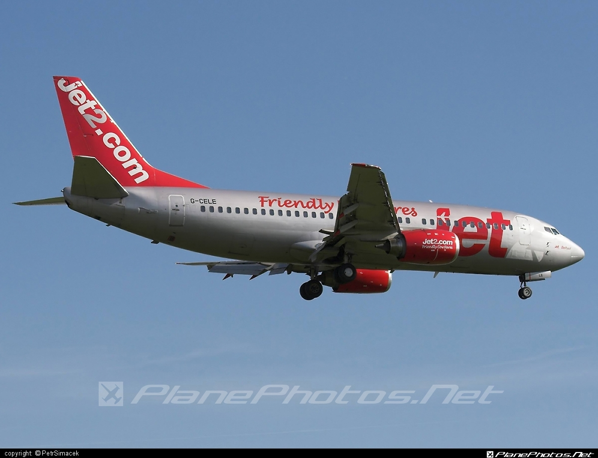 Boeing 737-300 - G-CELE operated by Jet2 #b737 #boeing #boeing737 #jet2