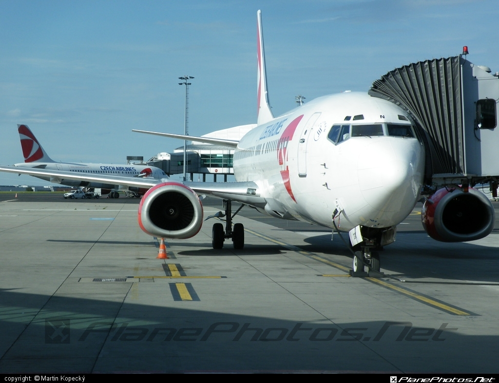 Boeing 737-400 - OK-DGN operated by CSA Czech Airlines #b737 #boeing #boeing737 #csa #czechairlines