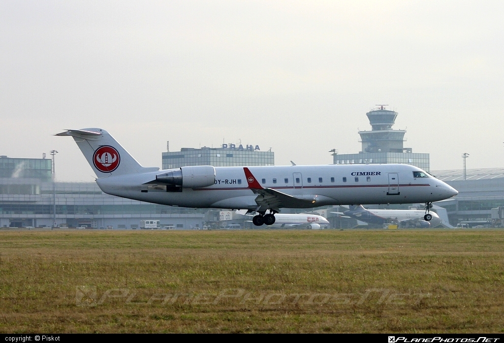 Bombardier CRJ100LR - OY-RJH operated by Cimber Air #bombardier #crj100 #crj100lr