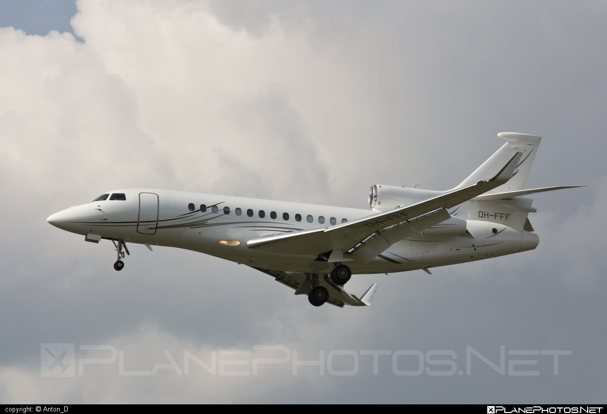 Dassault Falcon 7X - OH-FFF operated by Airfix Aviation #dassault #dassaultfalcon #dassaultfalcon7x #falcon7x