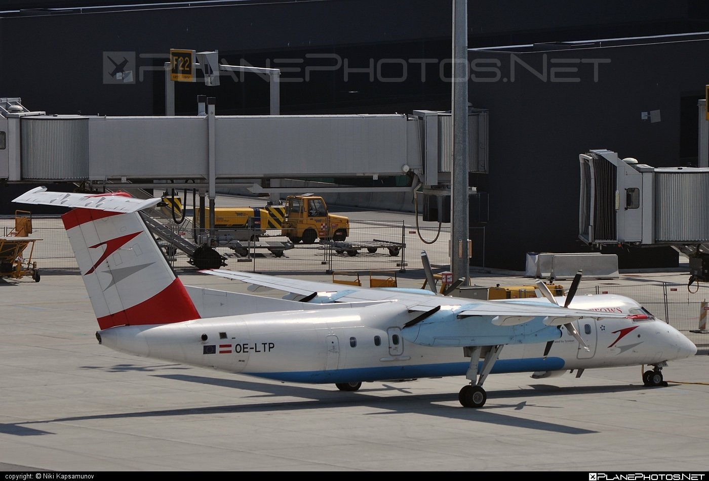 Bombardier DHC-8-Q314 Dash 8 - OE-LTP operated by Austrian arrows (Tyrolean Airways) #bombardier