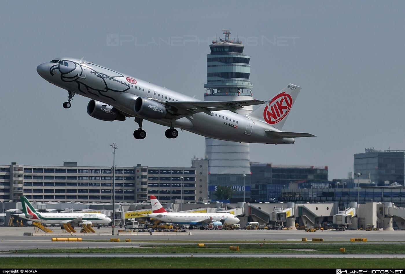 Airbus A320-214 - OE-LEX operated by Niki #a320 #a320family #airbus #airbus320 #flyniki #niki