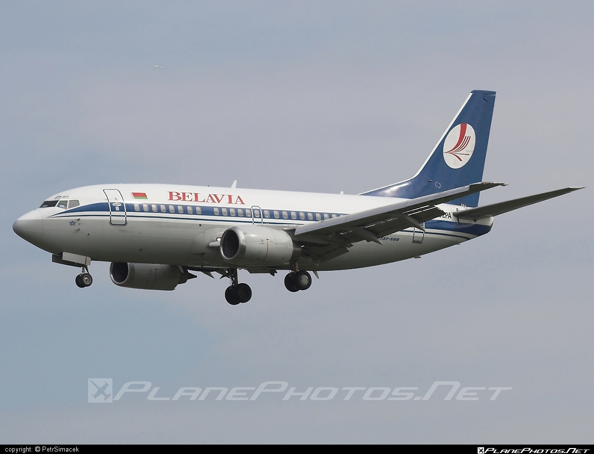 Boeing 737-500 - EW-252PA operated by Belavia Belarusian Airlines #b737 #belavia #boeing #boeing737